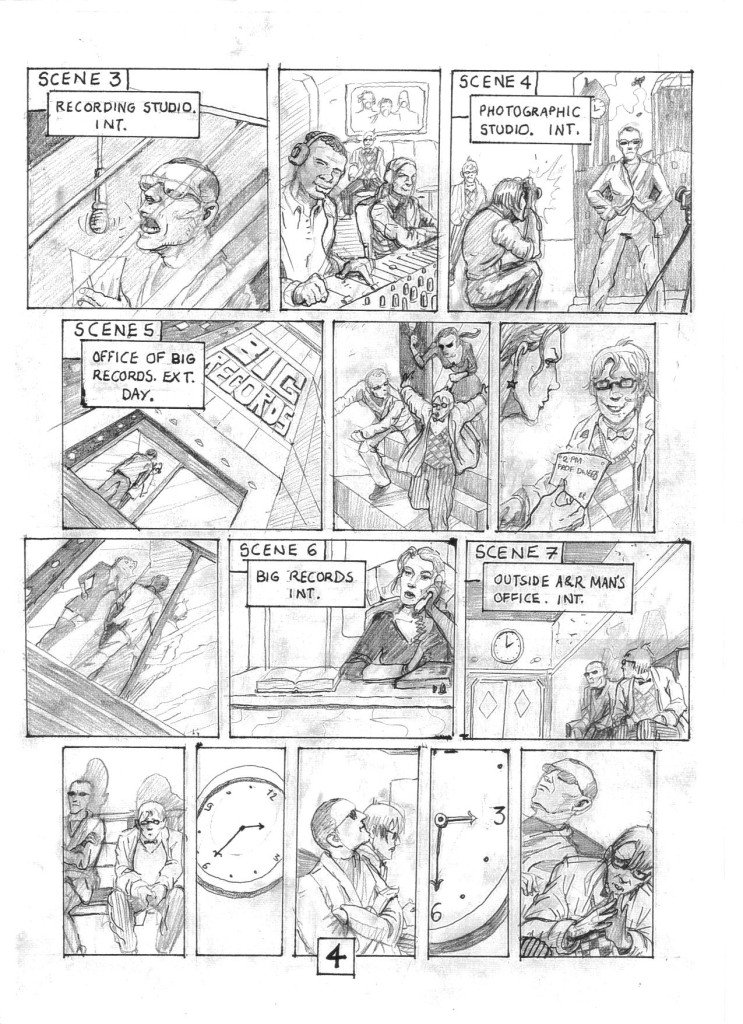 D-roid Story board Page 4